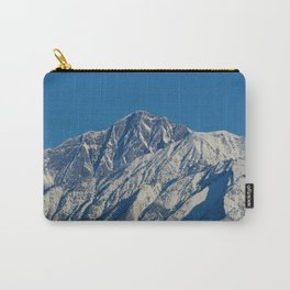 Fresh snow on the mountains of Jasper National Park Carry-All Pouch