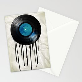 vinyl drip Stationery Cards