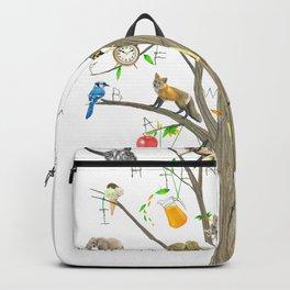Alphabet Tree Backpack