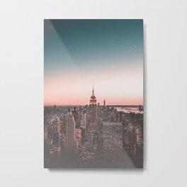 New York City Skyline Metal Print