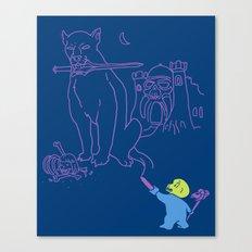 The Purple Crayon of Keldor Canvas Print