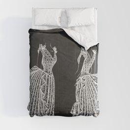 1887 Lady's Dress Patent Print Comforters