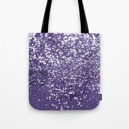 Sparkling ULTRA VIOLET Lady Glitter #1 #shiny #decor #art #society6 Tote Bag
