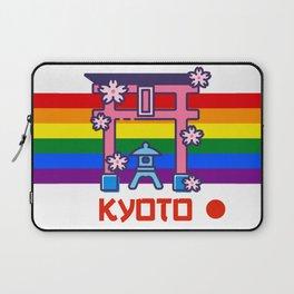 Kyoto Japan Lgbt Pride gay pride season rainbow  Laptop Sleeve