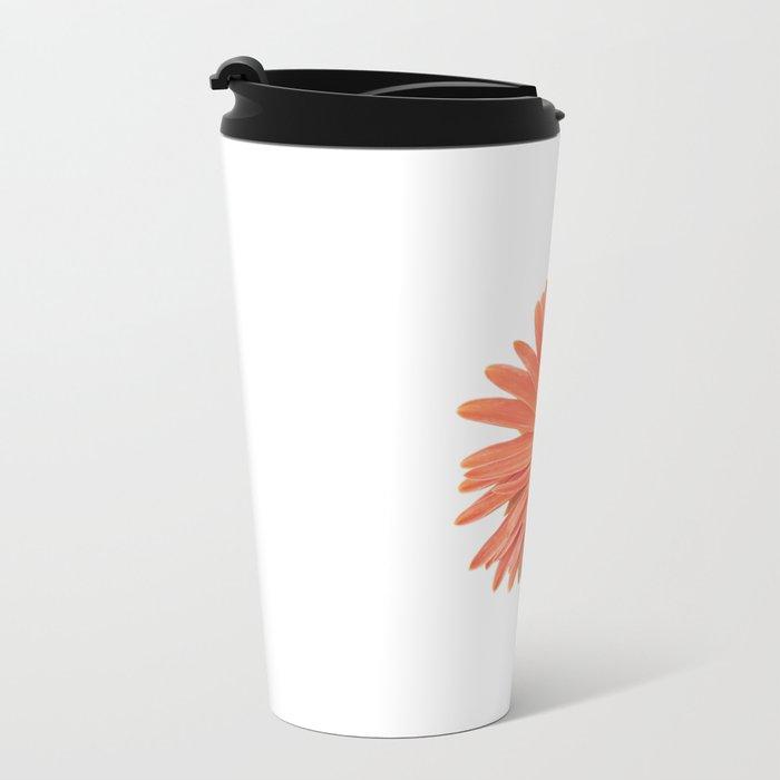 isolated gerbera daisy in the vase Travel Mug