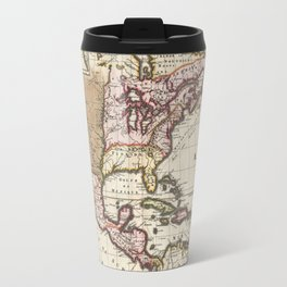 California as an Island!  1698 Vintage Map Travel Mug