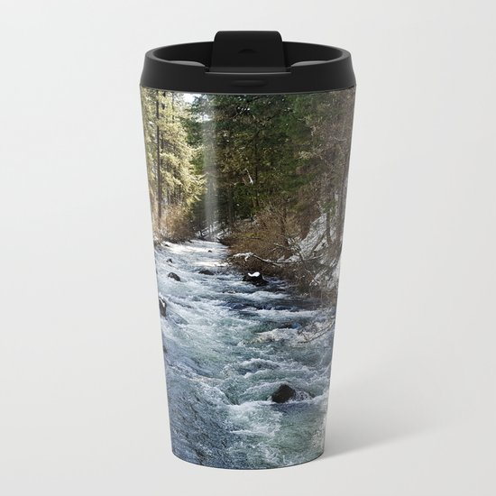 Burney Creek Metal Travel Mug