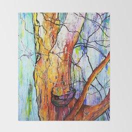 """Berkeley Eucalyptus"" Throw Blanket"