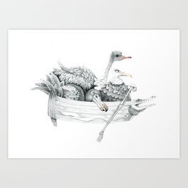 remember the dodo Art Print
