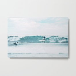 Surfing Day Metal Print