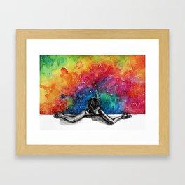 Do you feel better now? Framed Art Print