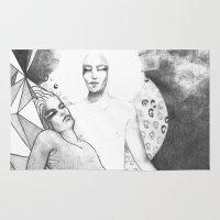 apollo Area & Throw Rugs featuring apollo & hyakinthos by Oxxygene