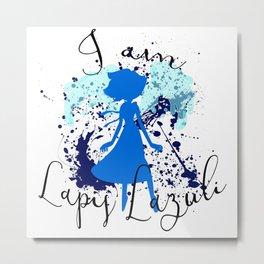 I am Lapis Lazuli Metal Print