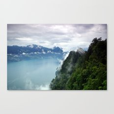 End of the Lake. Canvas Print