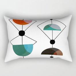Mid Century 1-9 Rectangular Pillow