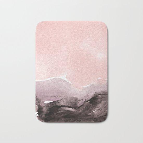 blush & mauve Bath Mat