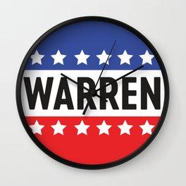 Warren Circle Stars Wall Clock
