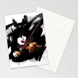 Paganini devil violinist  Stationery Cards