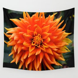 very orange Wall Tapestry