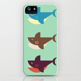 Snarky Sharky iPhone Case