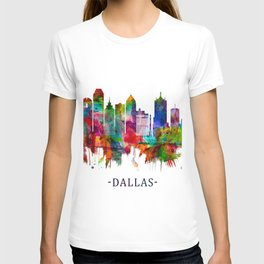 Dallas Texas Skyline T-shirt
