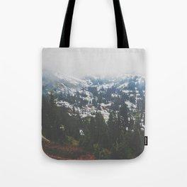 Mount Rainier in July Tote Bag