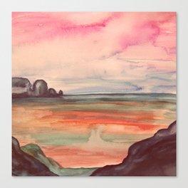 Melancholic Landscape Canvas Print