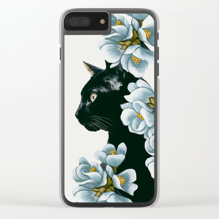 cat 2 Clear iPhone Case