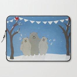 Winter Bears Laptop Sleeve