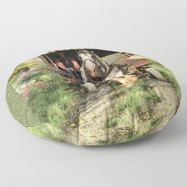 Take Me Home Country Road Floor Pillow