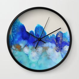 me and the sea Wall Clock