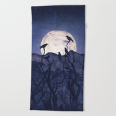 Midnight Chorus Beach Towel