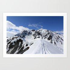 Mount Marathon Art Print