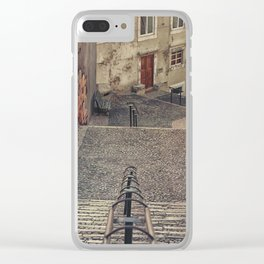 Alfama, Lisbon. Clear iPhone Case