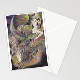 "Darlings & Dragons ""Holding & Horny"" Stationery Cards"