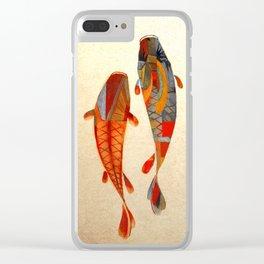Kolors Koi Clear iPhone Case