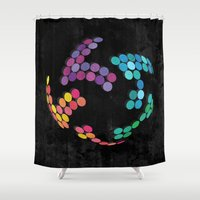 globe Shower Curtains featuring Globe by Last Call