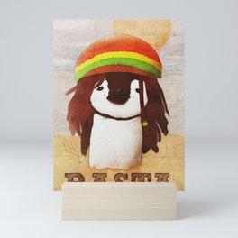 Reggae Penguin Mini Art Print
