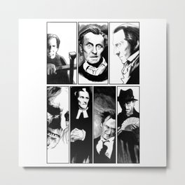 Cushing Horrors Metal Print