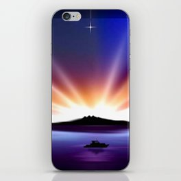 Great sunset. iPhone Skin