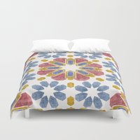 morocco Duvet Covers featuring Morocco by Vicky Webb