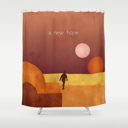 A New Hope Shower Curtain