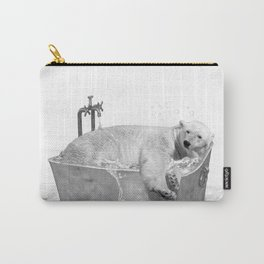 POLAR BEAR BATH Carry-All Pouch