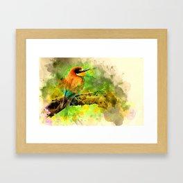 Waterbird Framed Art Print