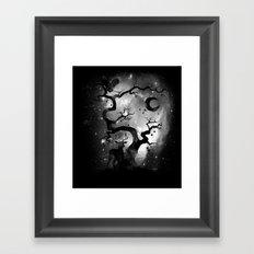 Stardust Forest Framed Art Print