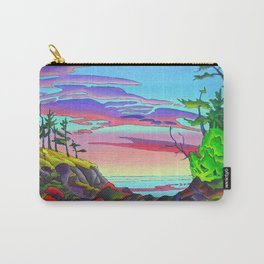 Pacific Pacific by Amanda Martinson Carry-All Pouch