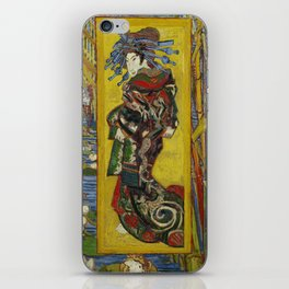 Vincent Van Gogh  - Courtesan after Eisen iPhone Skin