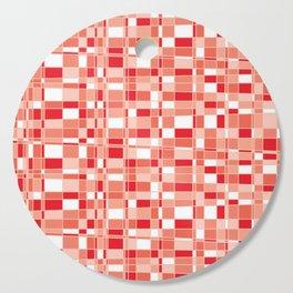 Mod Gingham - Red Cutting Board