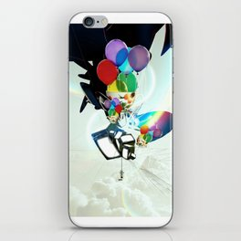 Fabricated Dreams iPhone Skin