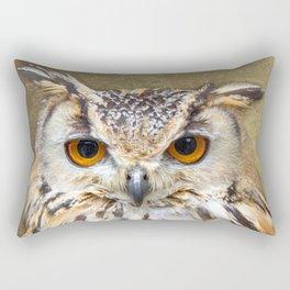 Indian Eagle Owl Rectangular Pillow